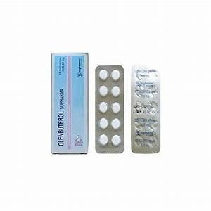 Clenbuterol 20mcg Tablets Sopharma Bulgaria