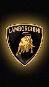 Lamborghini logo iPhone 5 Wallpaper (640x1136)