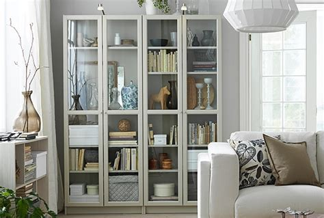 Custom Built-in Ikea Billy Bookcases