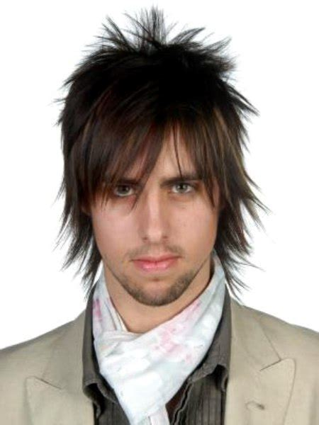 mens hairstyle  length   collar   shirt