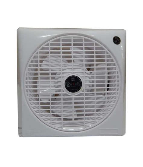 8 inch exhaust fan kwick 8 inch pkvent 8 exhaust fan white price in india