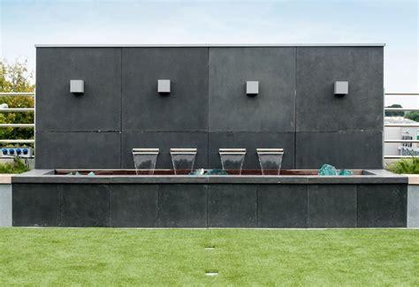 Moderner Sichtschutz Für Garten by Garten Im Quadrat Sichtschutz Wand Aus Fiberglas