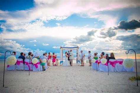 anna maria island beach weddings beach wedding packages