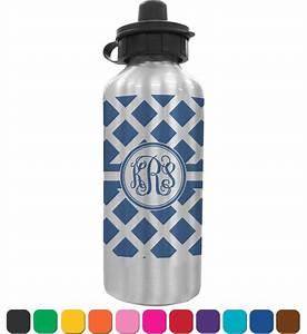 Diamond water bottle personalized youcustomizeit for Custom bottled water bottles