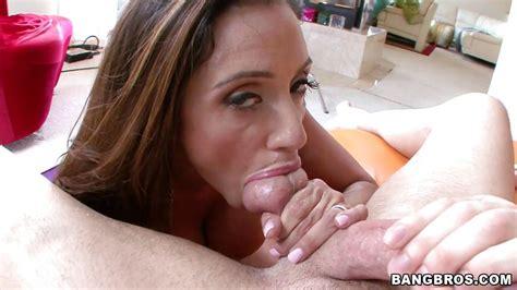 Ariella Ferrera In Busty Latin Milf Sucking Cock With