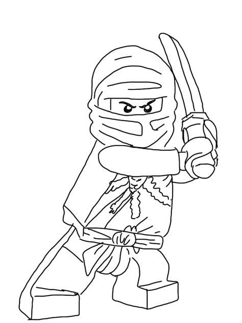 Free coloring pages of ninjago
