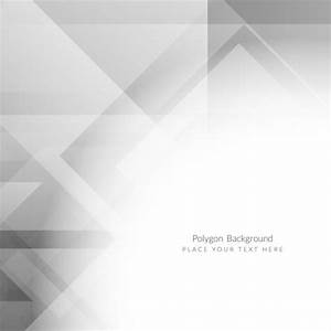 Grey color polygon background design Vector | Free Download