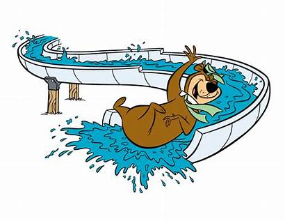 Clipart Pool Park Schedule Yogi Jellystone Swimming