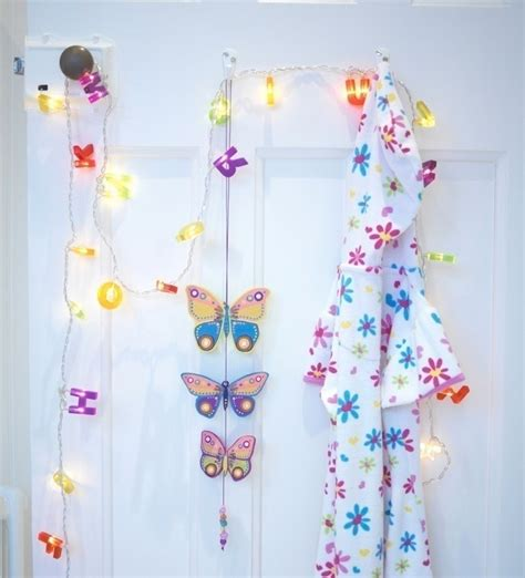 wooden butterfly hanging     hanging
