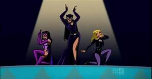 Catwoman (and Black Canary and Huntress) from Batman: The ...