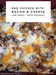 BBQ Chicken with Bacon & Cheese {low carb / keto friendly