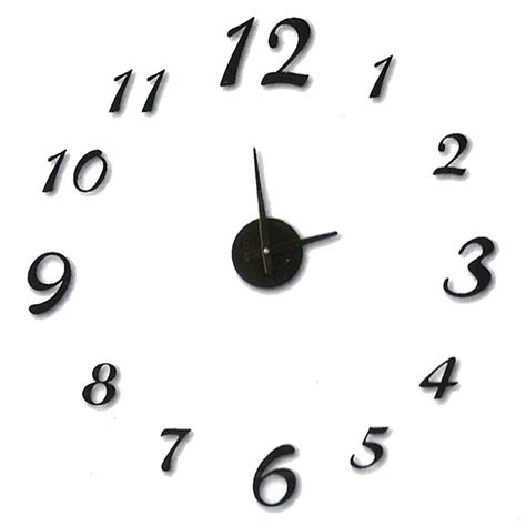 horloge sticker murale maison fut 233 e