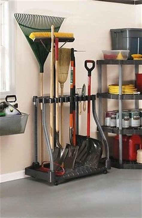 garden tool wall storage garden tool organizer garage rack storage holder tools
