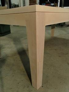 Table Bois Massif Contemporaine : table repas bois massif ~ Teatrodelosmanantiales.com Idées de Décoration