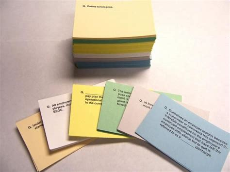 College Tip Flash Cards Are Oldies, But Goodies! Use The Cards To Help You Learn Definitions