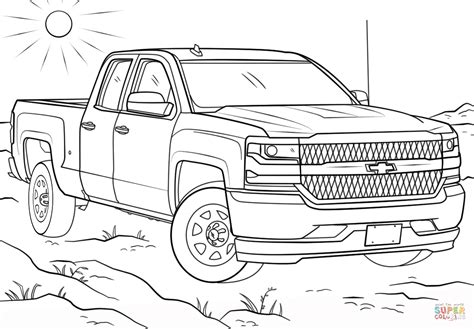 Chevrolet Coloring Pages - Eskayalitim