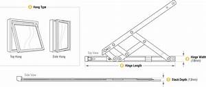 13mm Friction Hinge For Top    Side Hung Upvc Window Stay 8