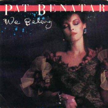 One Of My Favourite Songs From Pat Benatar | Pat benatar ...