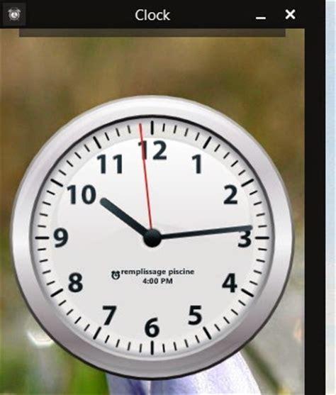 horloge sur bureau horloge sur pc bureau gratuit 28 images horloges