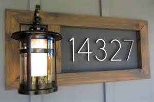 House Number Address Plaques