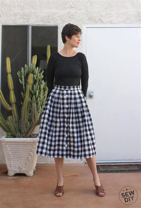 yard pleated skirt tutorial allfreesewingcom