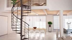 Escalier Colimaçon Beton : prix d 39 un escalier en colima on co t de r alisation tarif de pose ~ Melissatoandfro.com Idées de Décoration