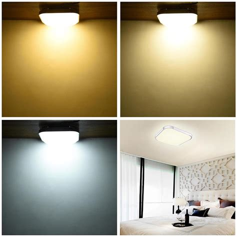 led kitchen light fixtures led ceiling light flush mount fixture l bedroom kitchen 6910