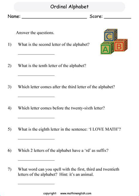 printable primary math worksheet  math grades