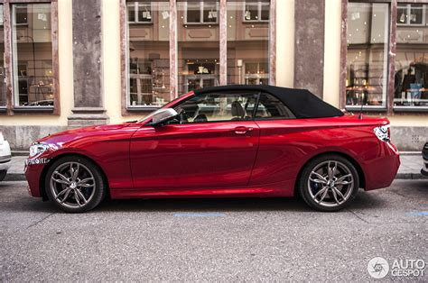 Bmw M235i Convertible Spotted Barely Camouflaged Ahead Of