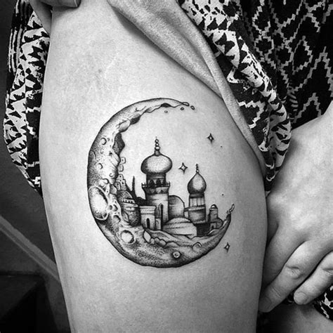 moon tattoos   illuminate  imagination
