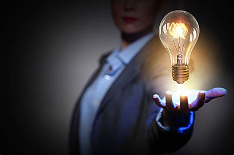 power and light events creative bulb business business background material