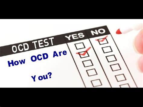 ocd   ocd test youtube