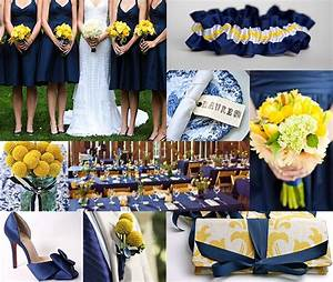 Blue and Yellow Wedding - Cocktail Party