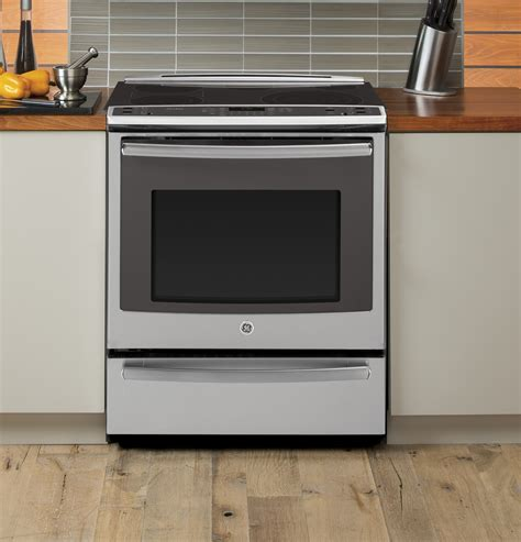 pssfss ge profile    electric convection range warming drawer stainless steel