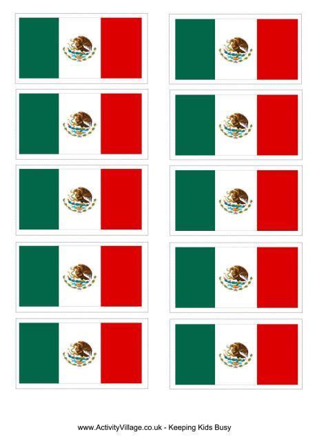 Mexico flag printable (With images)   Flag printable ...