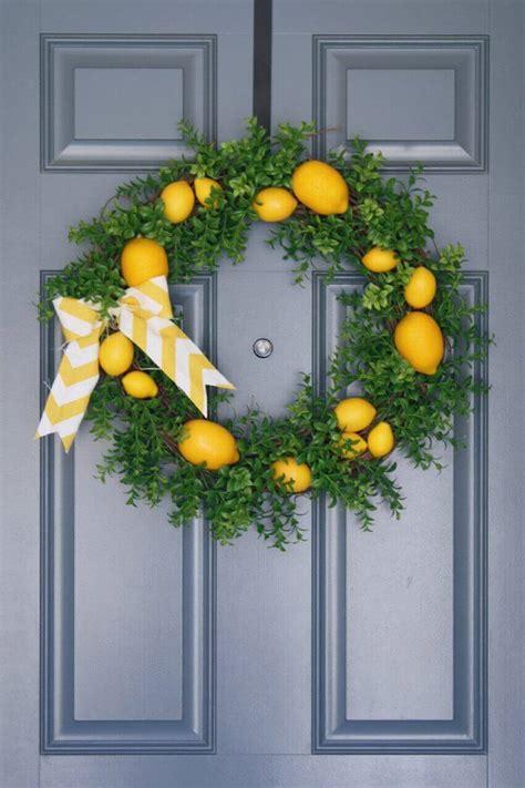 summer door wreaths 8 simple ways to update your porch for summer homeyou