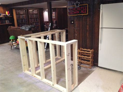 How To Make A Bar by Putting The Frame Together The Bs Pub Grille Stuff In
