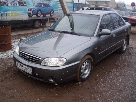 2005 Kia Spectra Images, 1600cc., Gasoline, Ff, Manual For