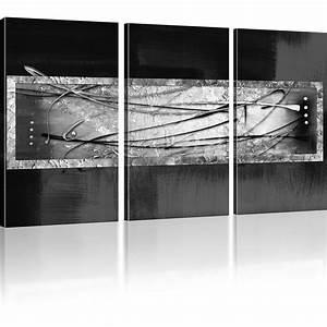 Abstrakte Bilder Leinwand : bilder abstrakte streifen wandbild auf leinwand abstrakt viele varianten ebay ~ Sanjose-hotels-ca.com Haus und Dekorationen