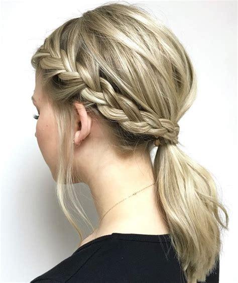 modern side braid hairstyles  women braided long hair styles
