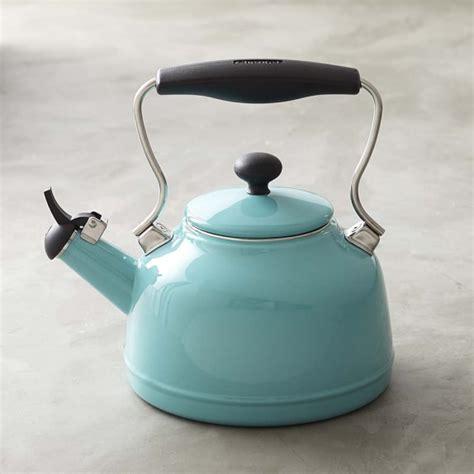 retro tea kettle chantal vintage tea kettle williams sonoma 1949