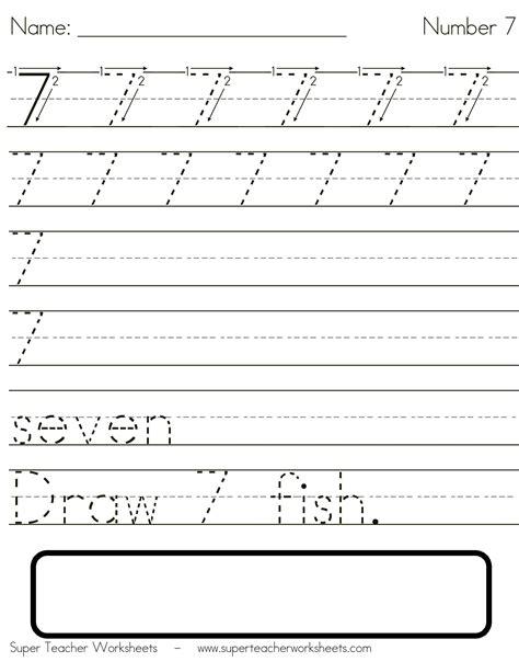 handwriting number worksheets free worksheet printables