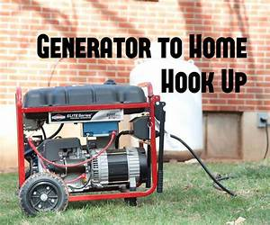 Easy Generator To Home Hook Up   Wire The Generator Inlet Plug