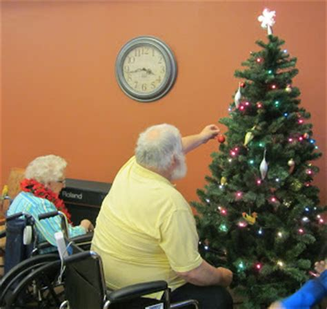 christmas nursing home harvest moon by decorating a nursing home for countdown to day 2