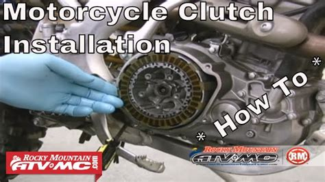 clutch replacement   motorcycle  atv clutch