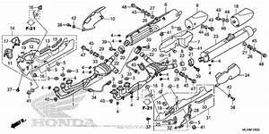 Muffler For 2017 Honda Gl1800