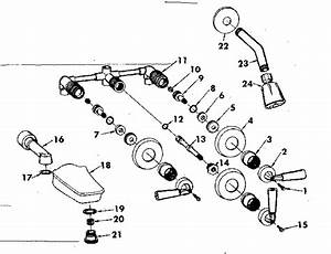 Sears Combination Tub And Shower Faucet Parts