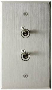 Light Switch Lever Stainless Steel Contemporary