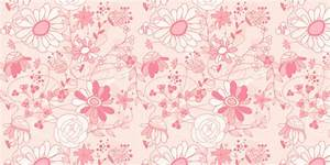 Pink Flower Background Patterns 26 Free Romantic Floral