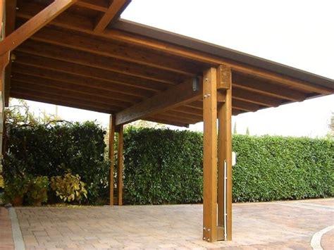 Tettoia Pensilina tettoie legno tettoie e pensiline caratteristiche